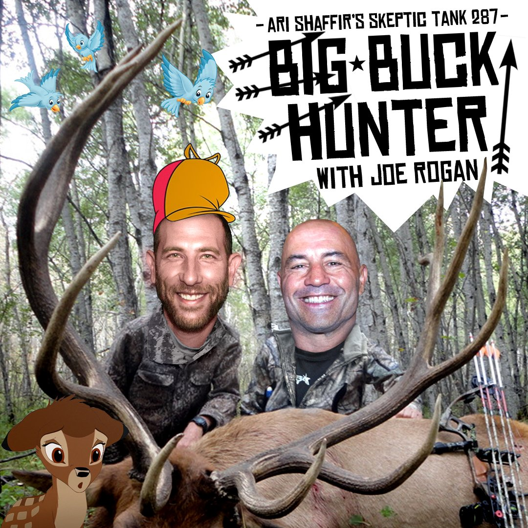 #287: Big Buck Hunter (@JoeRogan)