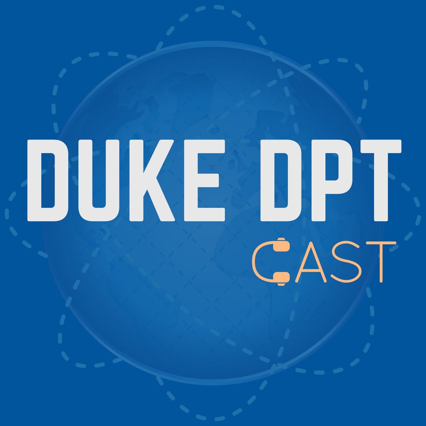 Duke DPT podcast show art