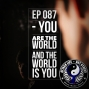Artwork for Ep 087 - You Are The World and The World Is You