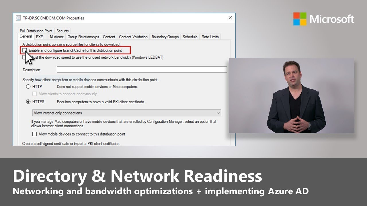 Artwork for Directory and Network Readiness - Step 2 of Modern Desktop Deployment
