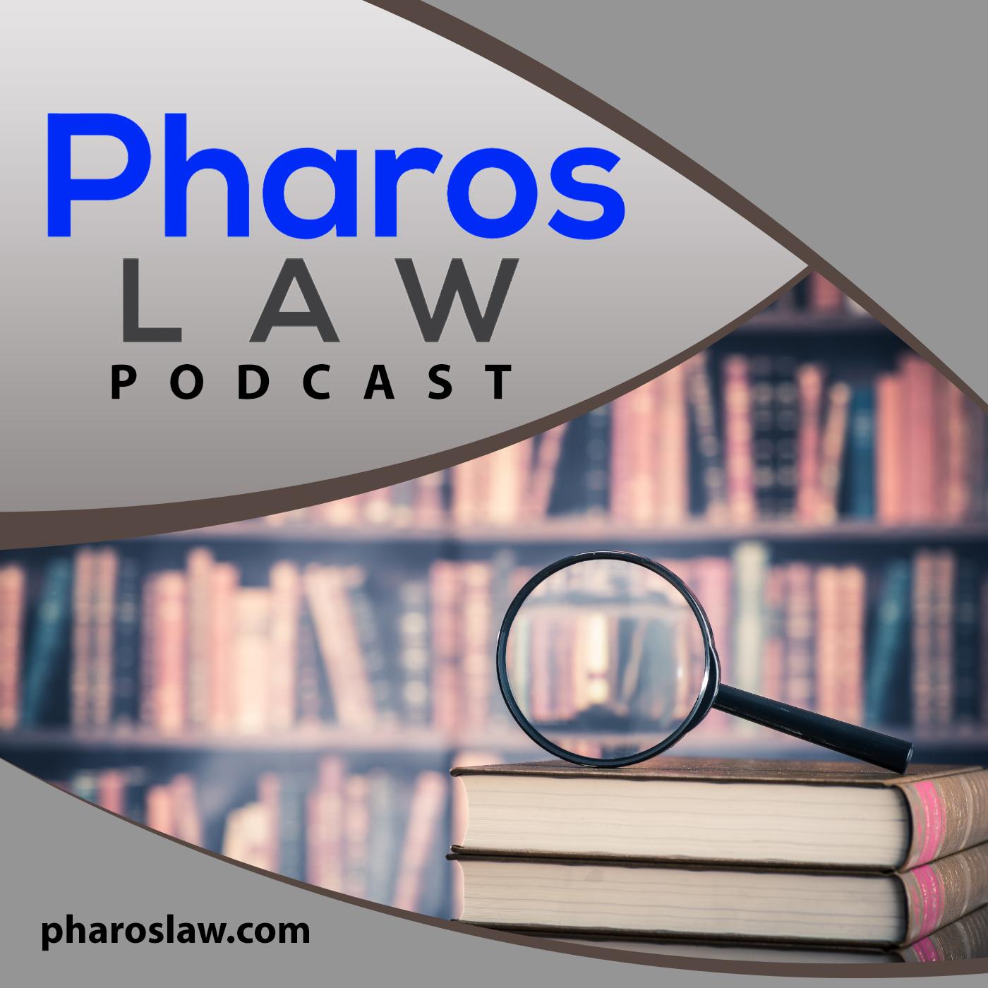 Pharos Law Podcast show art