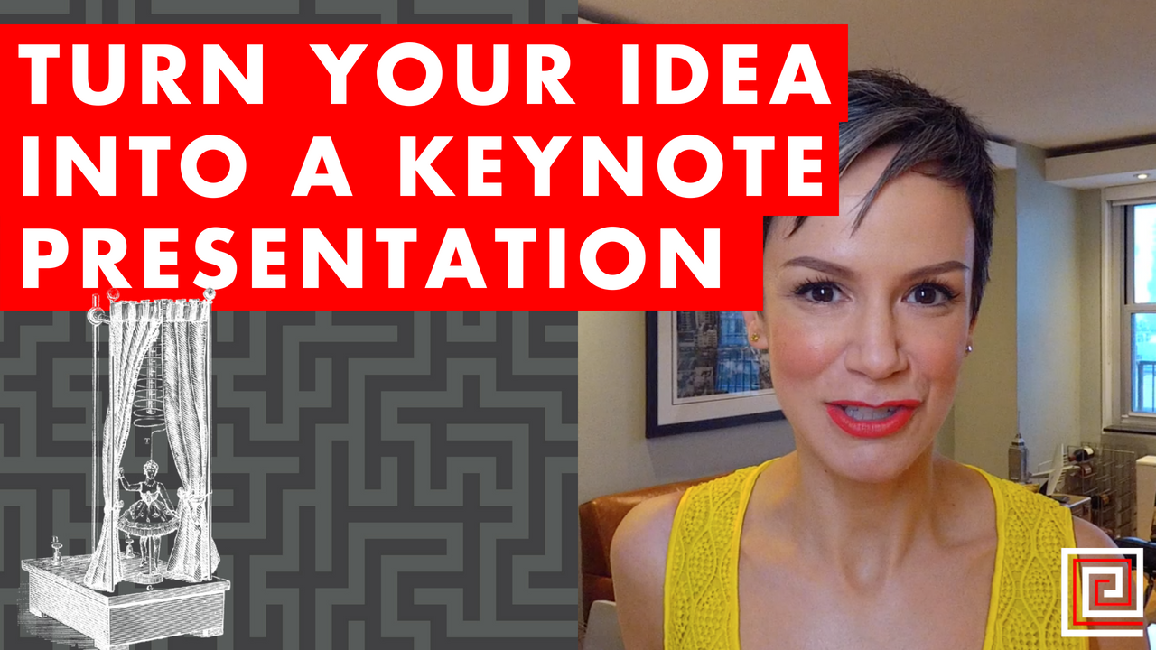 Artwork for EP072: Turn Your Idea Into a Keynote Presentation