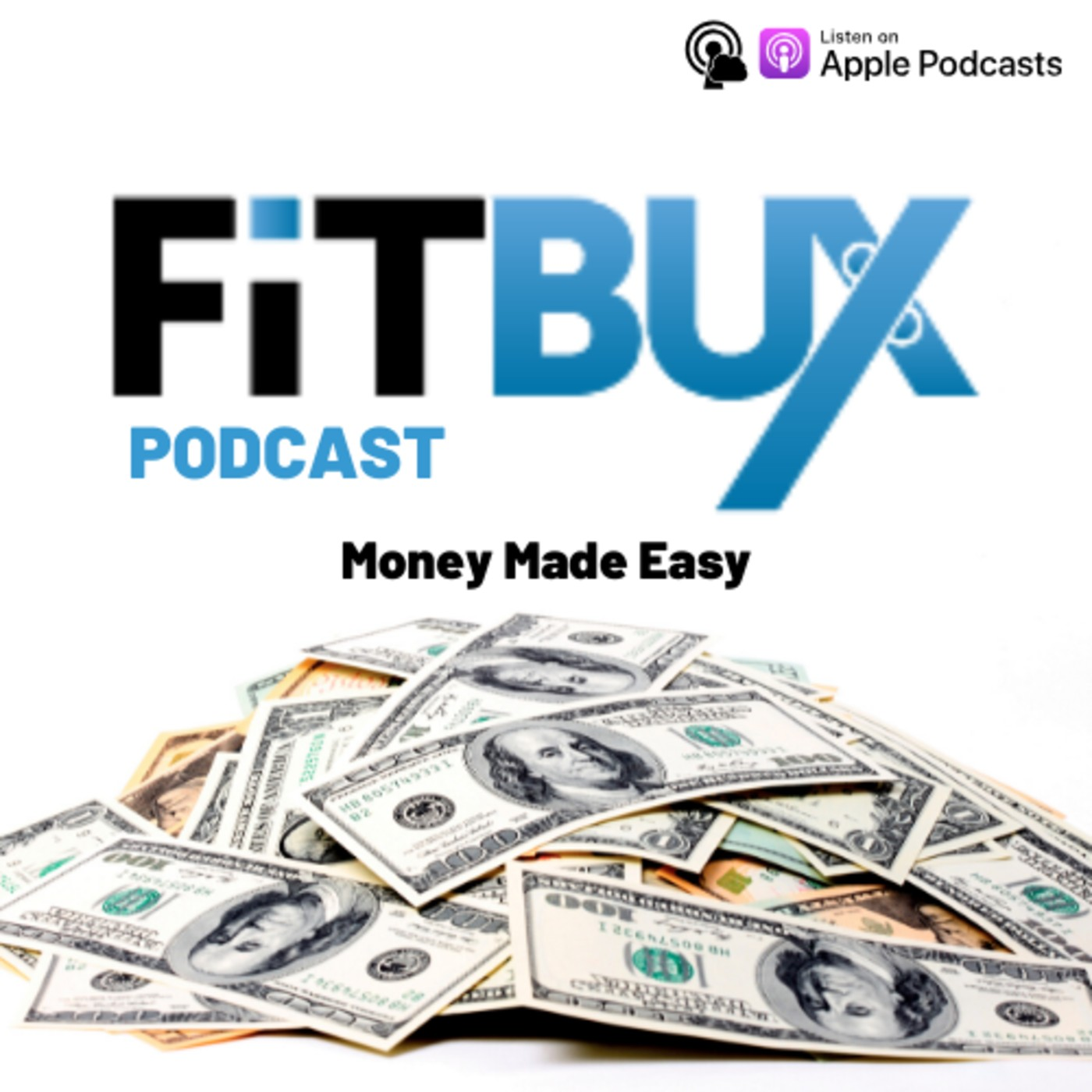 The FitBUX Podcast show art