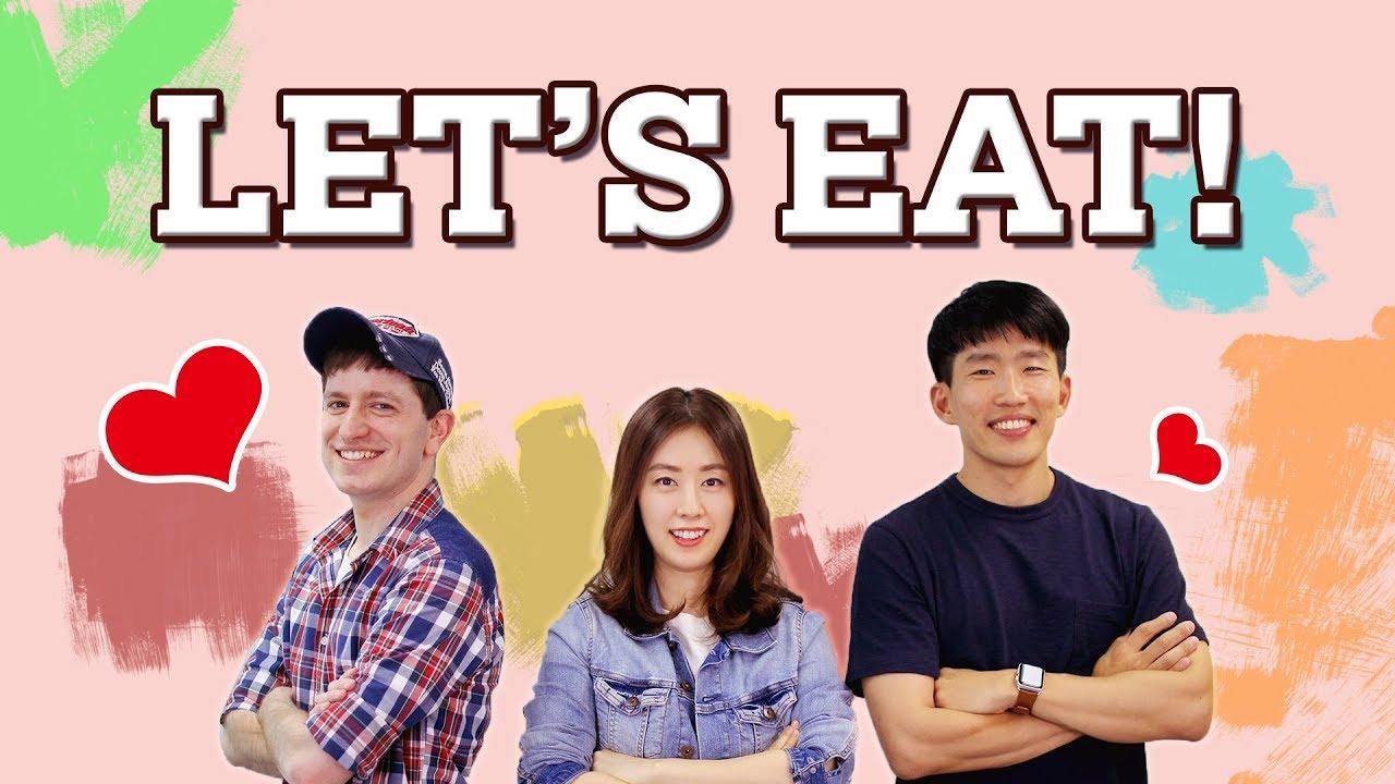 Korean Parenting Phrases - Time to Eat