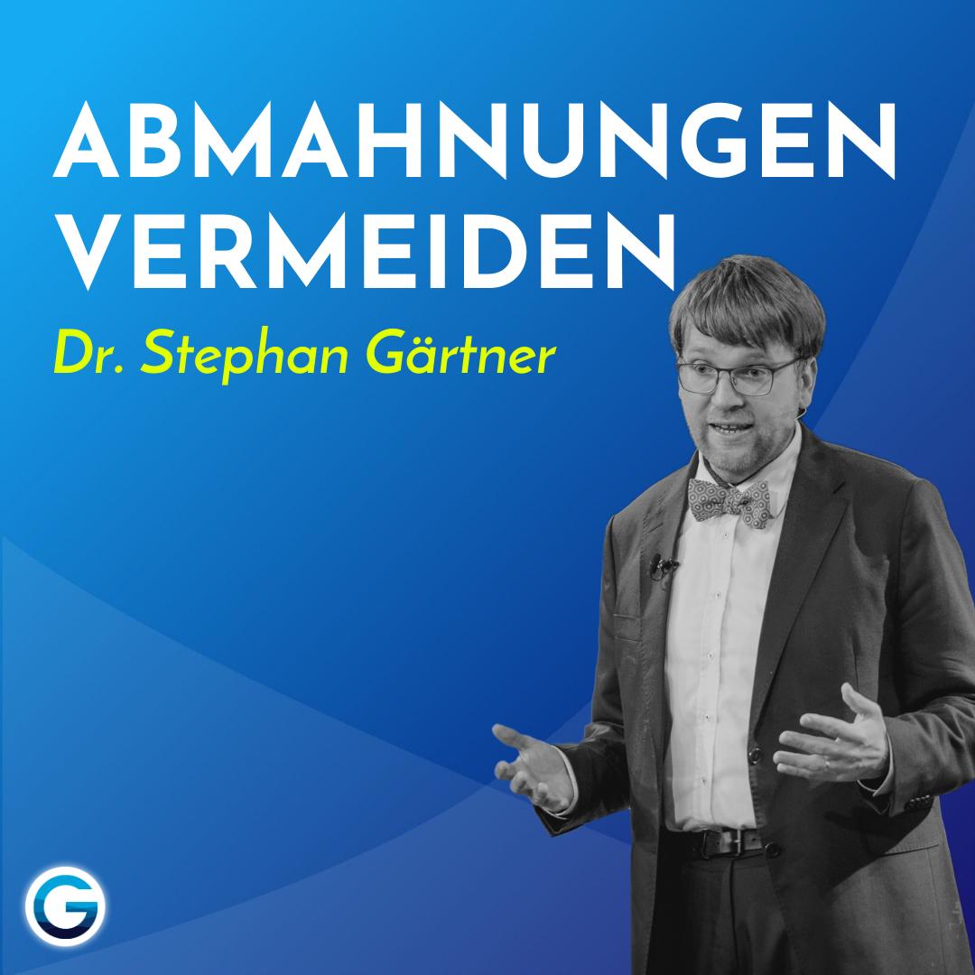 DSGVO einfach erklärt: Diese goldene Regel MUSST du kennen! // Dr. Stephan Gärtner