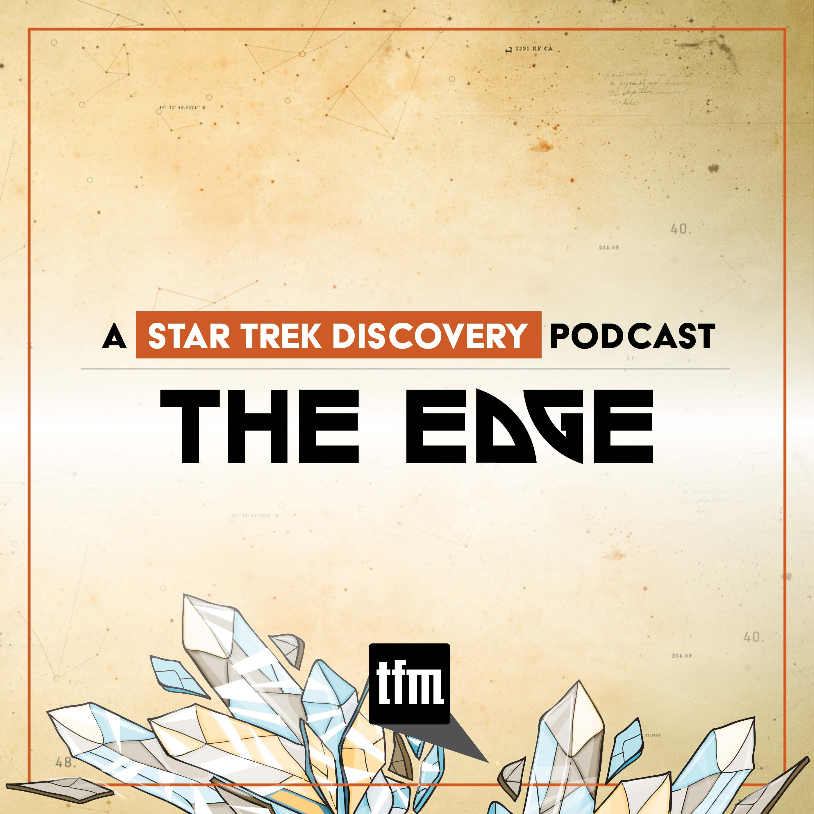 The Edge: A Star Trek Discovery Podcast show art