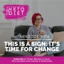 Artwork for This is a Sign: It's Time for Change
