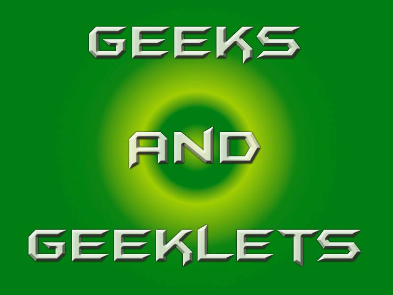 Geeks and Geeklets show art