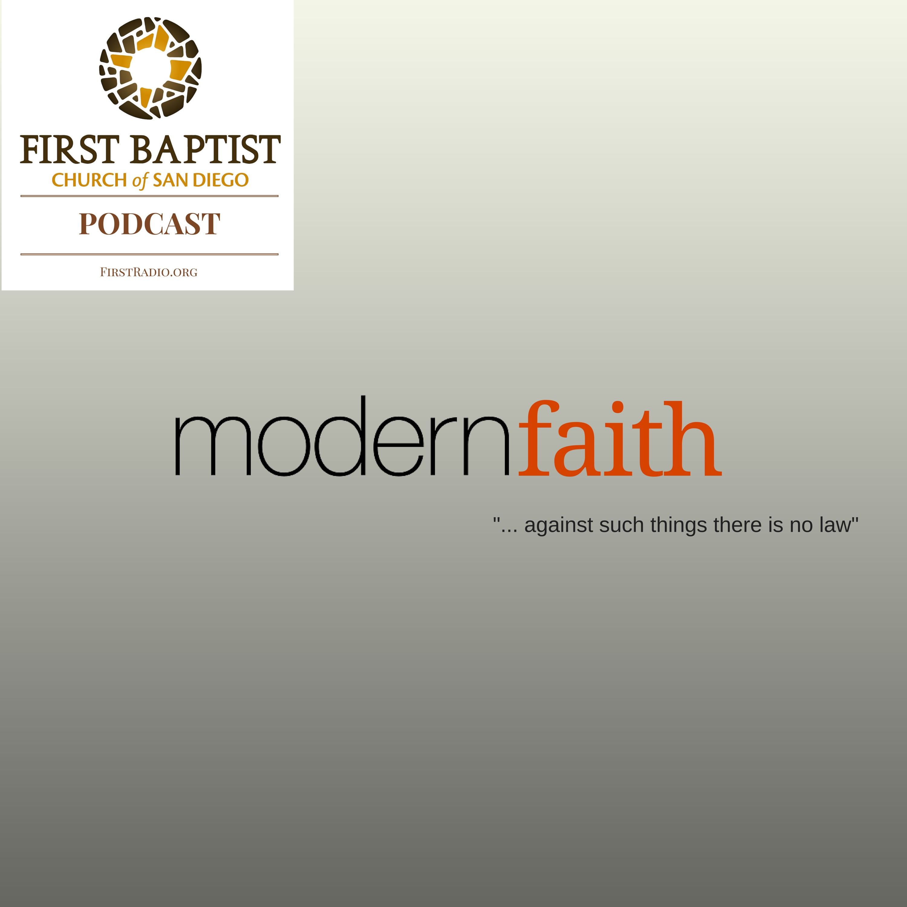 Modern Faith 9 - What is Goodness?  Two Wrongs and a Right