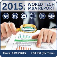 Tech M&A Annual Report 2015 - Intro & Predictions