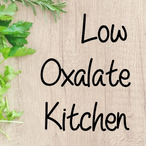 Low Oxalate Kitchen