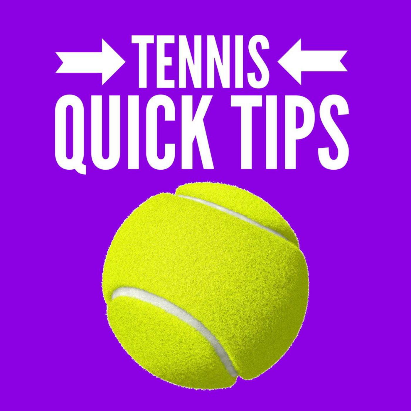 Tennis Quick Tips  | Fun, Fast and Easy Tennis - No Lessons Required logo