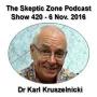 Artwork for The Skeptic Zone #420 - 6.November.2016