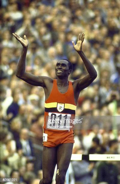 Munich 1972: Et John Akii Bua inventa le tour d'honneur!
