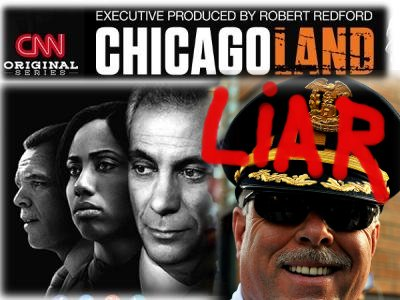 """Chicagoland"" Hero Cops Cook Books to Make Murders Disappear, CNN Pretends Not To Notice"