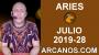 Artwork for HOROSCOPO ARIES - Semana 2019-28 Del 7 al 13 de julio de 2019 - ARCANOS.COM