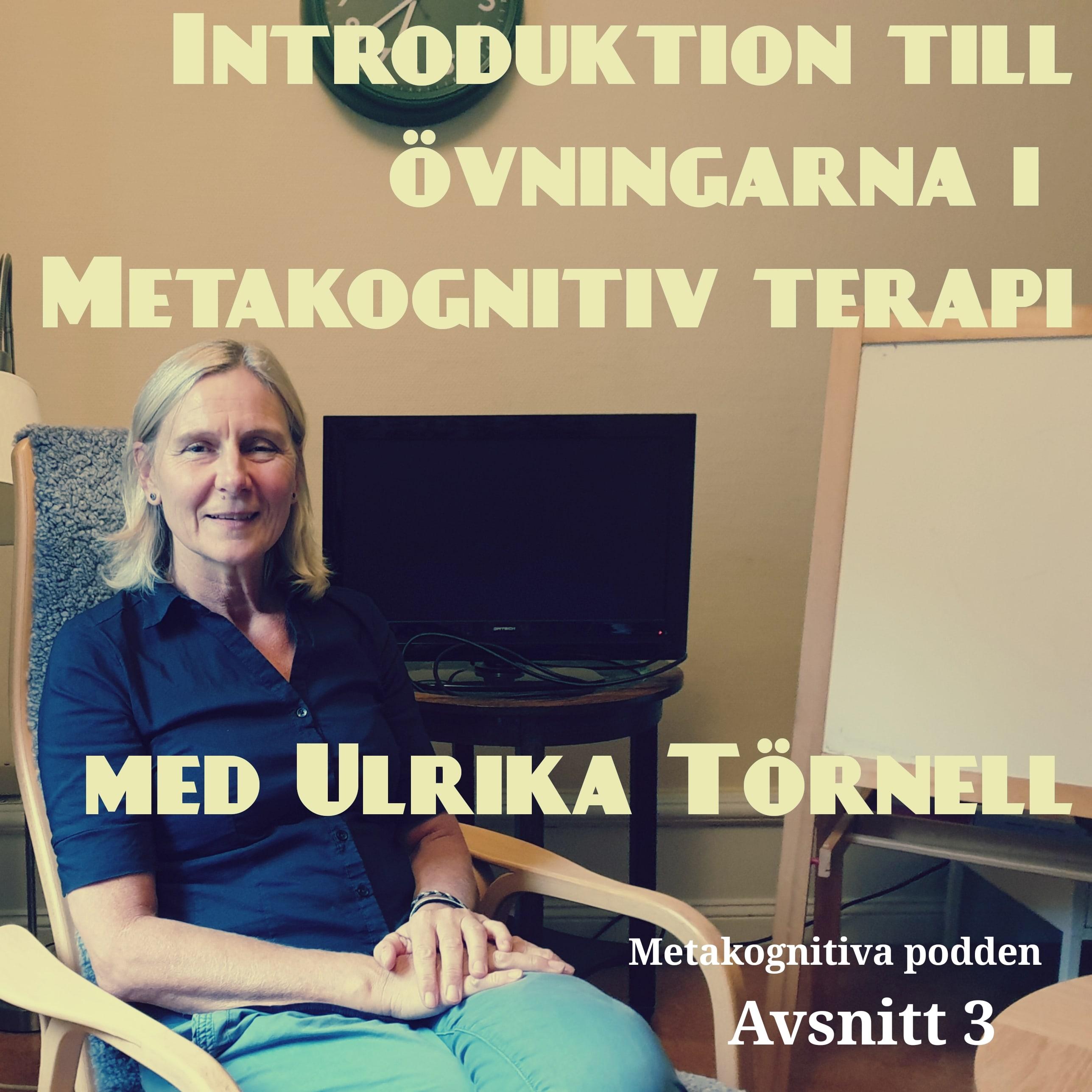 3. Introduktion till övningarna i Metakognitiv terapi med Ulrika Törnell