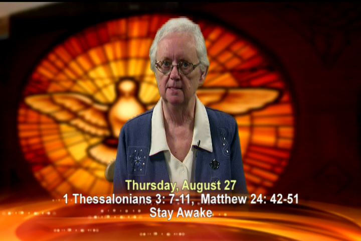 Artwork for Thursday, August 27th Today's Topic: Stay awake