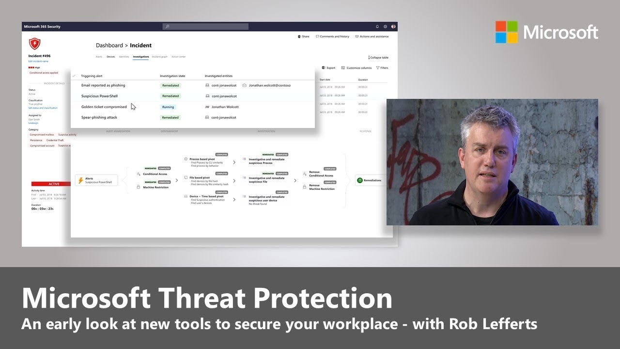 Artwork for Early look at Microsoft Threat Protection
