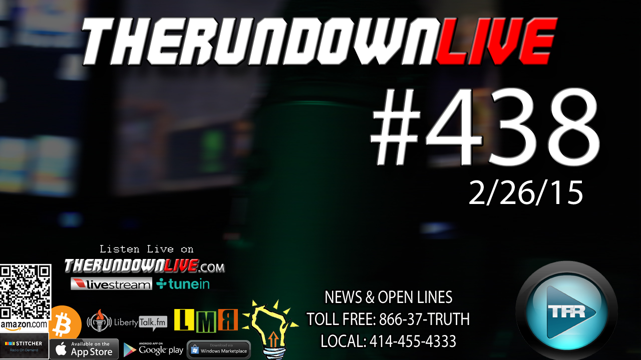The Rundown Live #438 Open Lines (Walker 4 Pres,Internet,Black Site)
