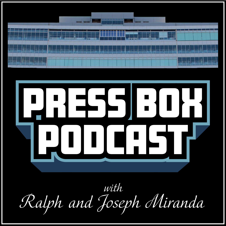 Press Box Podcast show art
