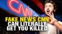 Artwork for Why believing fake news CNN may get you KILLED