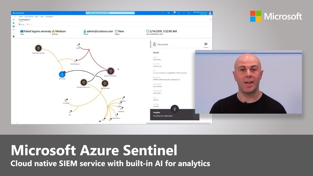 Artwork for Introducing Microsoft Azure Sentinel