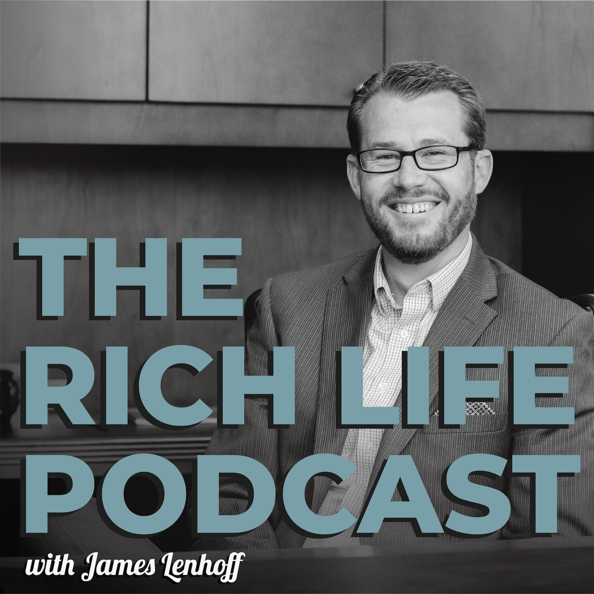 The Rich Life Podcast show art