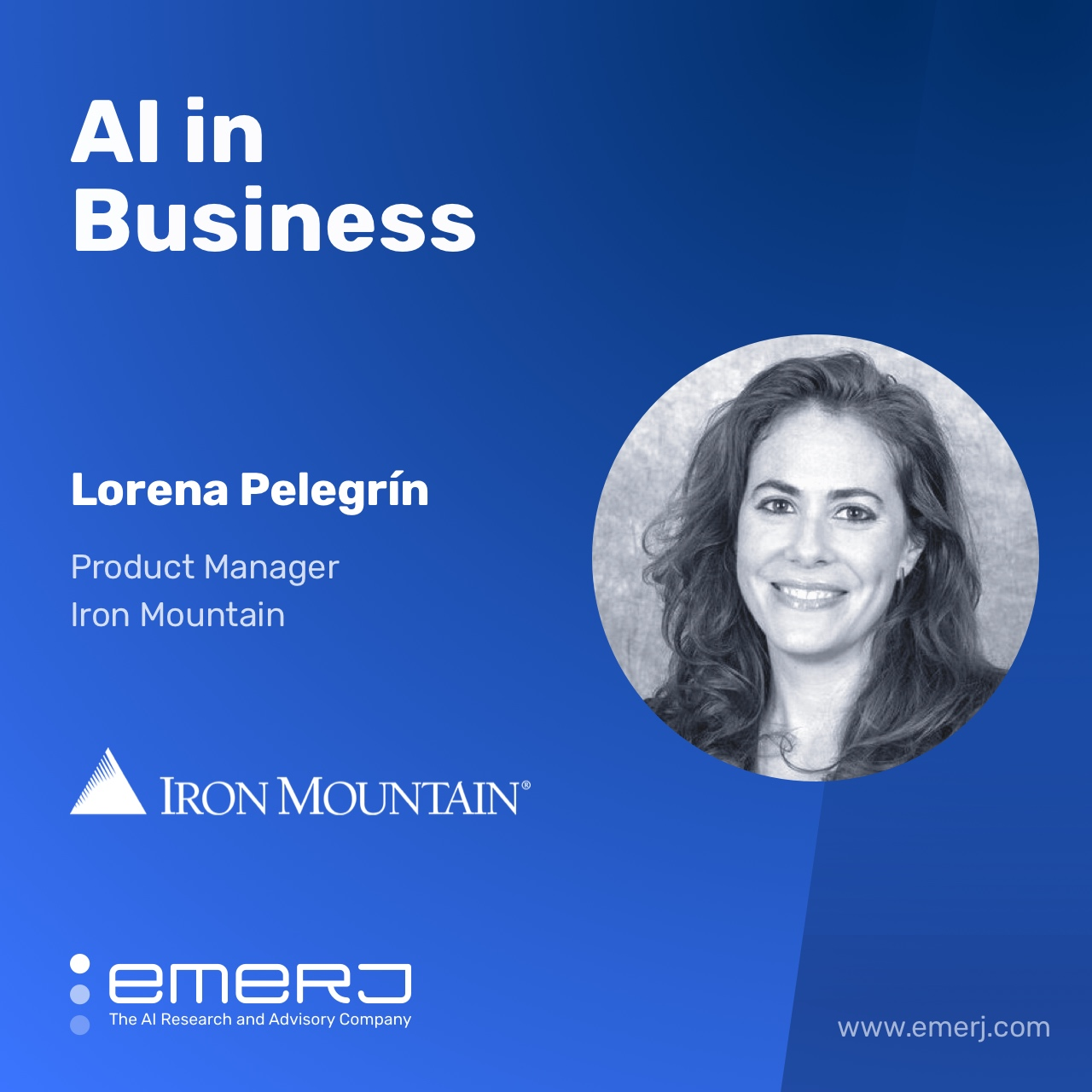 AI in Oil and Gas, Unlocking the Value of Data - with Lorena Pelegrín of Iron Mountain
