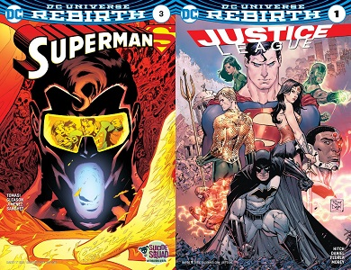 Rebirth: Superman 3 and Justice League 1