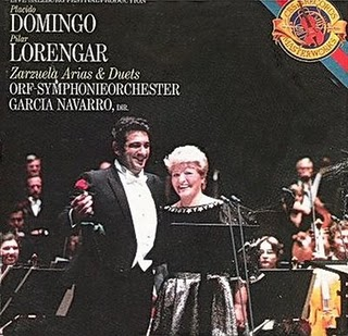 Domingo and Lorengar in Zarzuelas