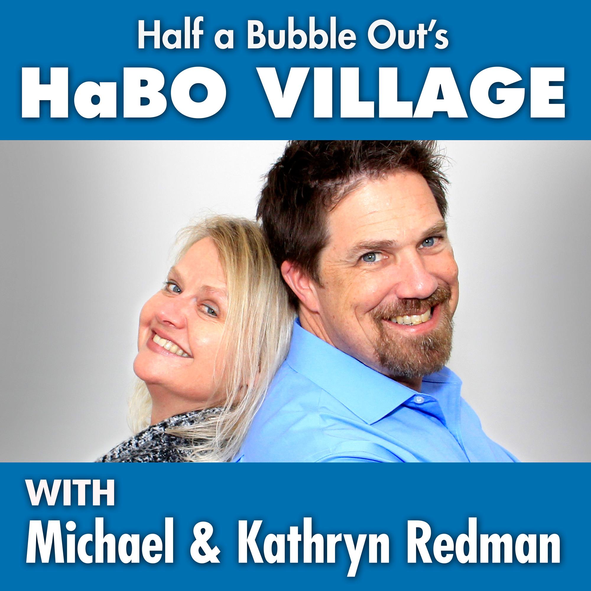 habovillage's podcast show art