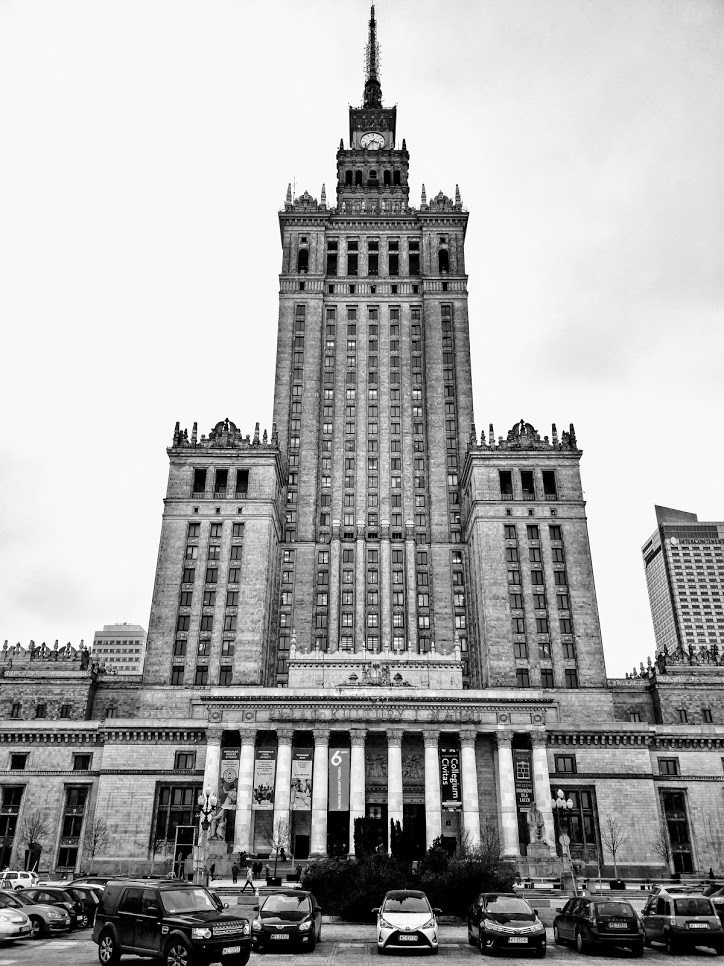 The Palace of Culture in Warsaw - see more Unseen photos on Instagram