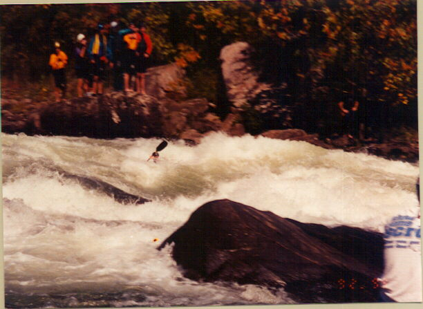 So you're ready for the Gauley...