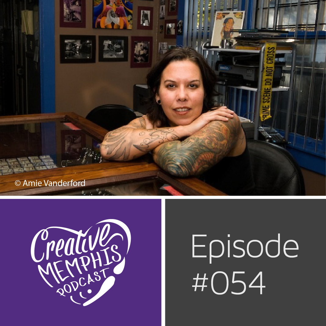 Episode #054: Angela Russell, Underground Art