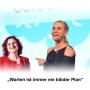 """Artwork for Folge 77: """"Warten ist immer ein blöder Plan"""" – Katja Porsch, Motivationsrednerin, Autorin, lebt in Berlin und Los Angeles, Lehrbeauftragte"""