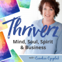 Artwork for Embracing Curiosity, Courage, Creativity & the Power of Presence to Step Into What's Next Confidently Equipped to Thrive! with Scott Perry (Episode 6)