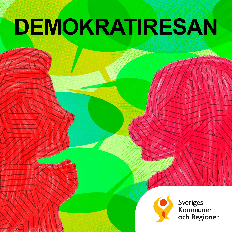 Demokratiresan - en podcast från SKR show art