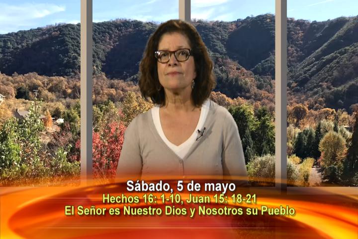 Artwork for Dios te Habla con Maria Eva Hernandez;  Tema el hoy: El Señor es nuestro Dios y nosotros su pueblo. Aleluya.