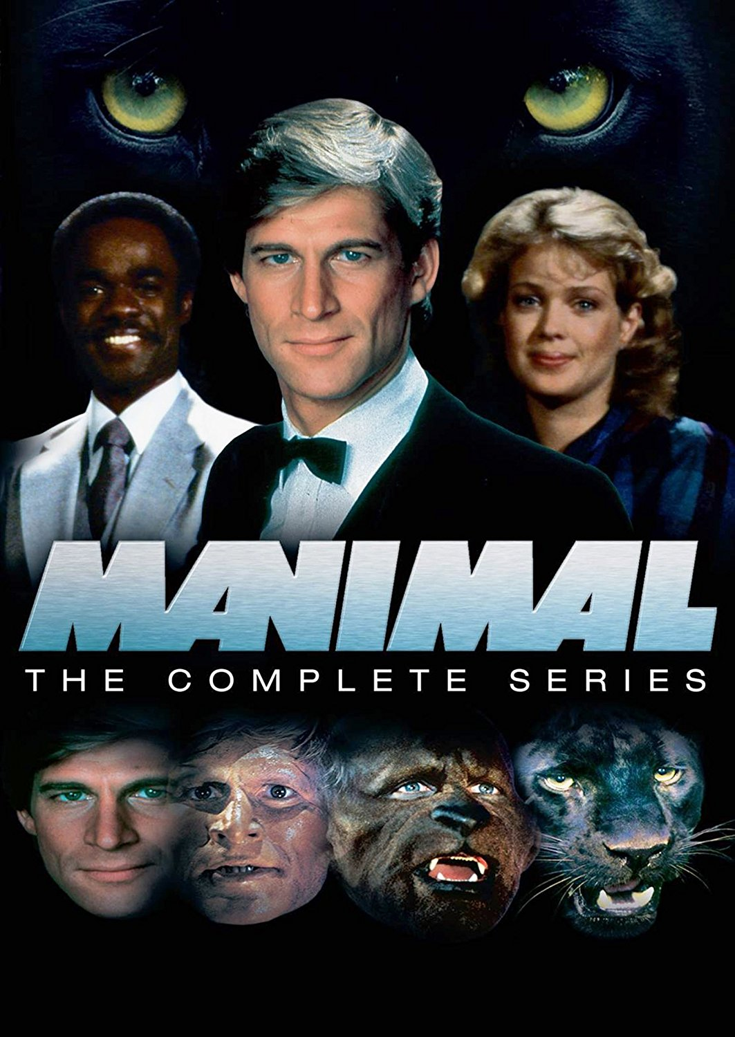 Manimal: The DVD cover.