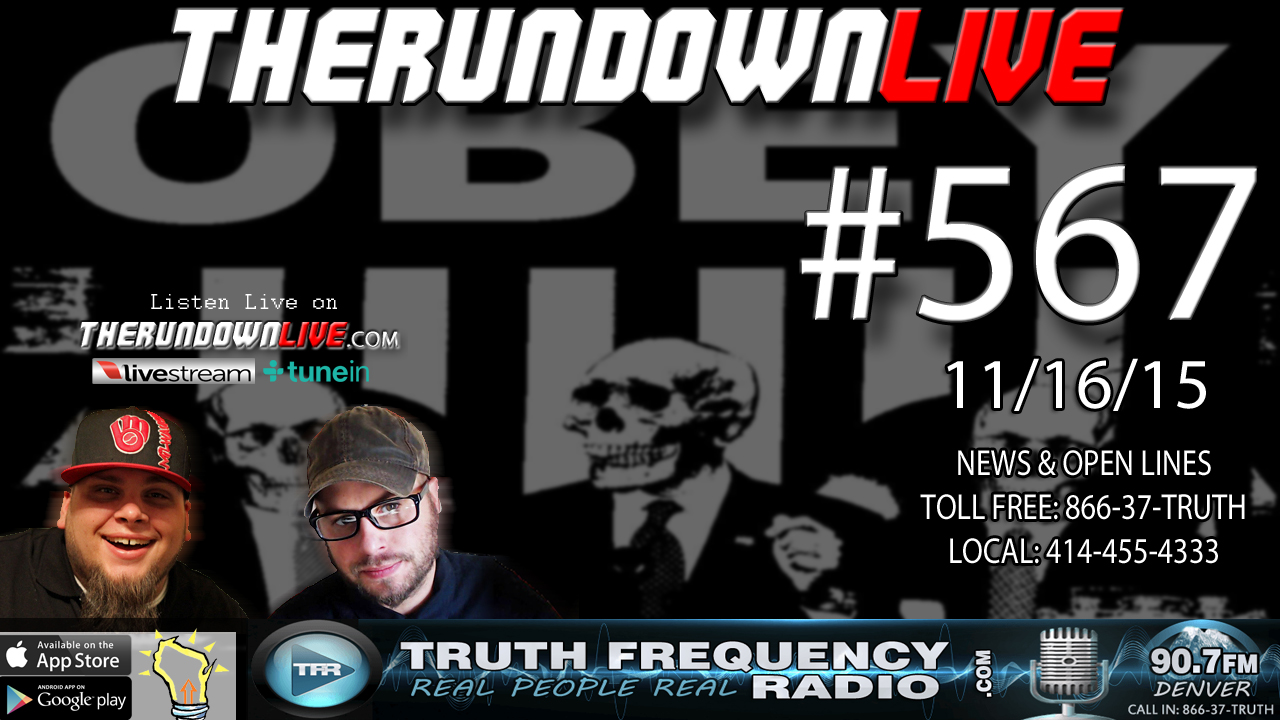 The Rundown Live #567 (ISIS,France,Syria,Pawns,War)