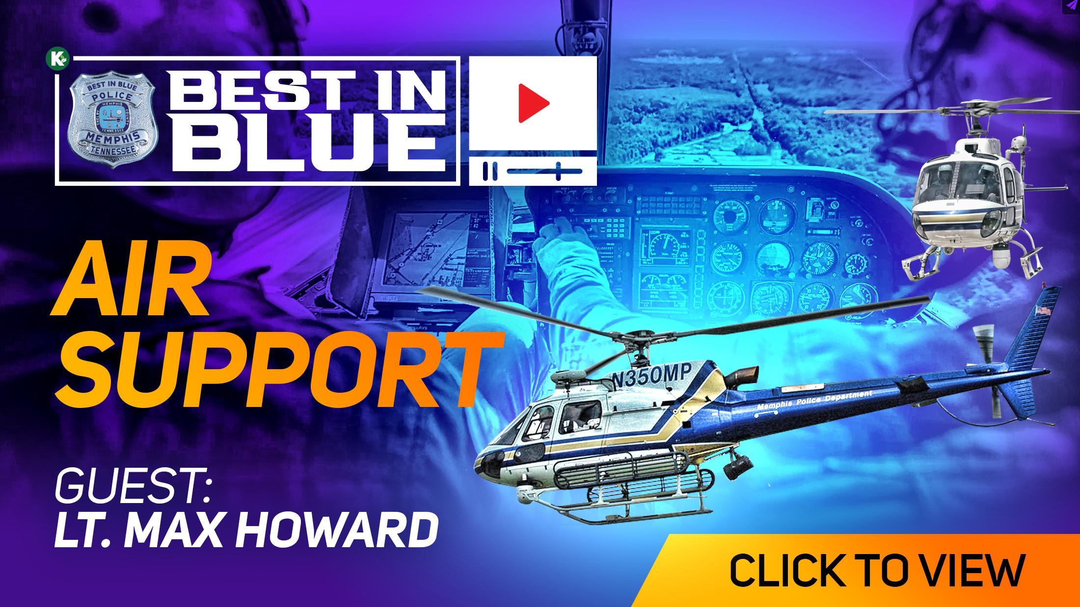 Artwork for AIR SUPPORT  w/ Lt. Max Howard  | BEST In BLUE [ VIDEO ] | KUDZUKIAN