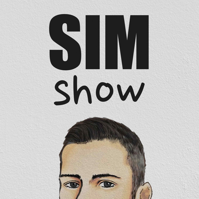 Sim Show with Simone Salis show art