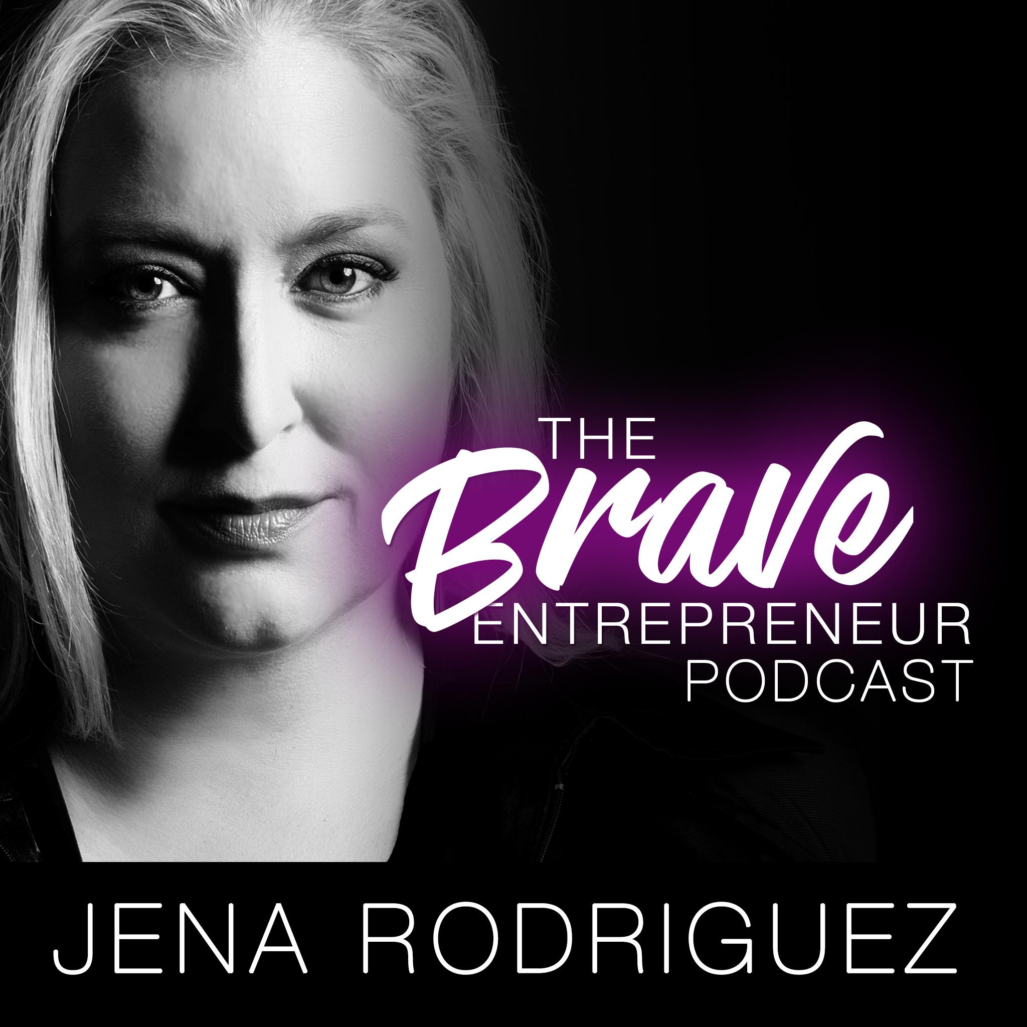 The Brave Entrepreneur show art