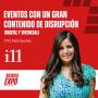 Artwork for E010 Eventos con un gran contenido de disrupción (Digital y Vivencial), con Paola Saucedo, de i11 Digital