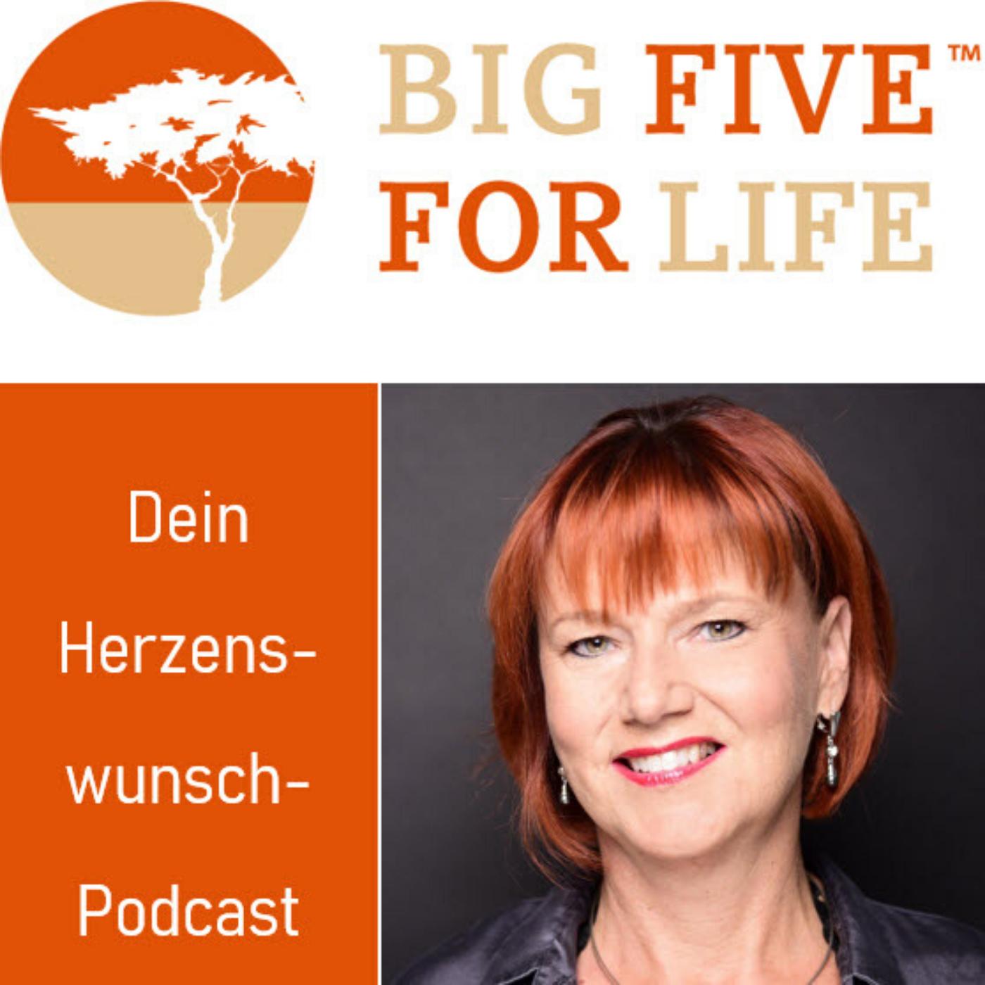 BIG FIVE FOR LIFE - DEIN HERZENSWUNSCHPODCAST show art