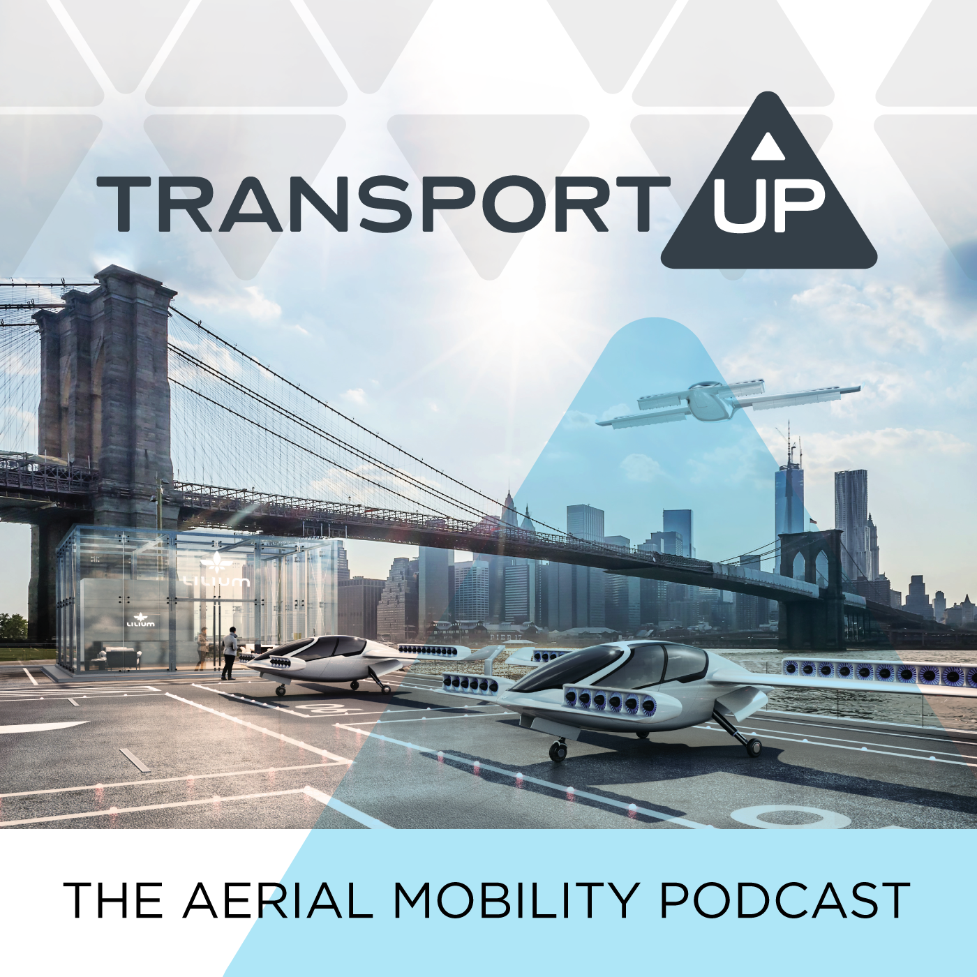The Aerial Mobility Podcast, by TransportUP show art
