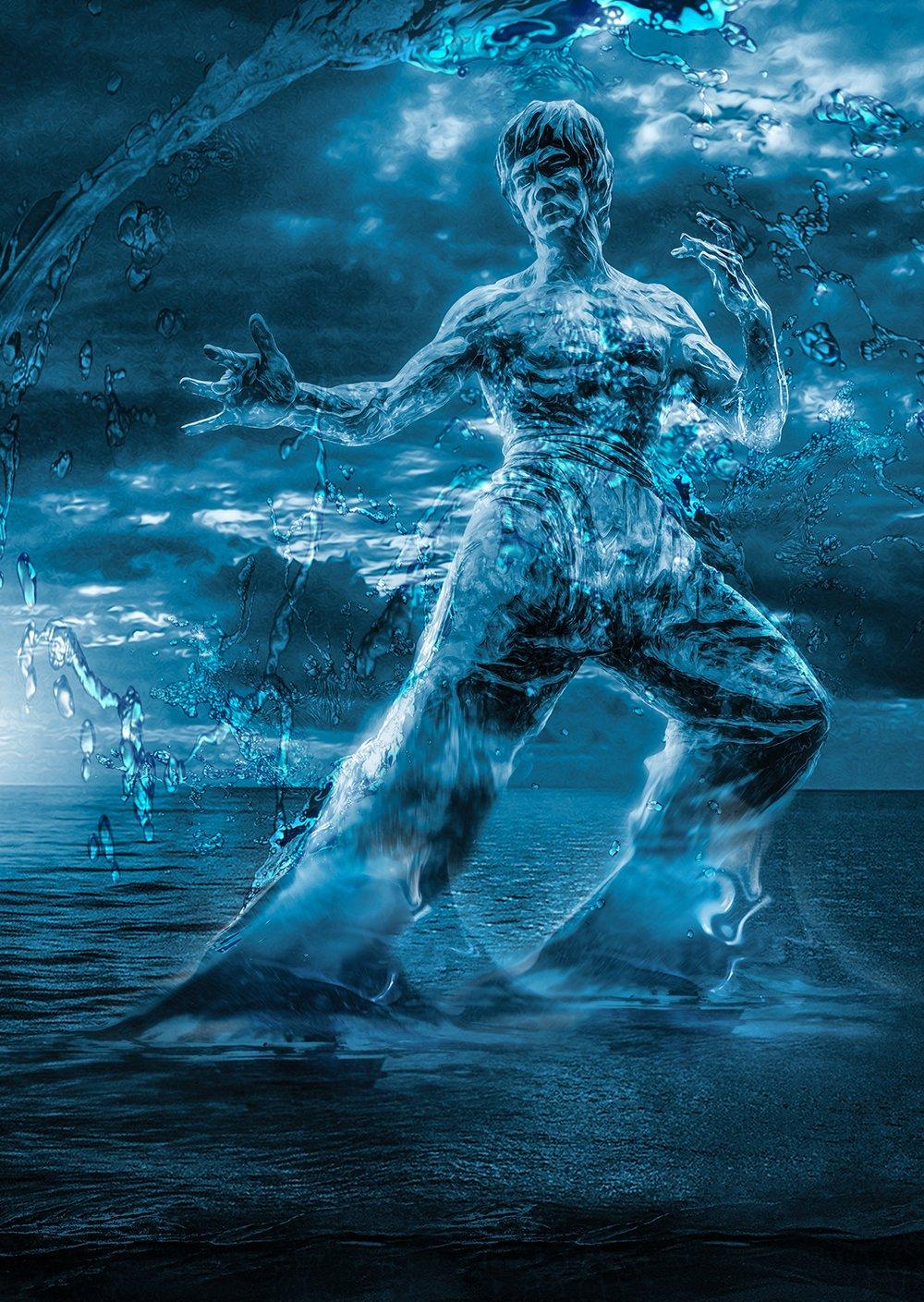 Be water my friend -- Bruce Lee