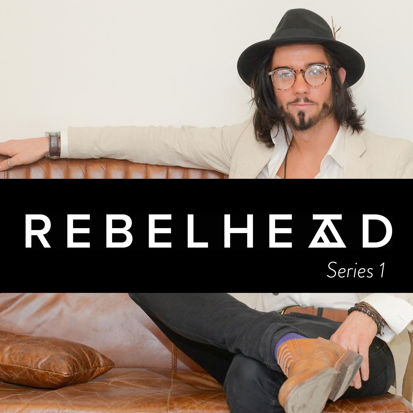 Rebelhead Entrepreneurs Podcast show art