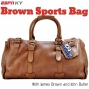 Artwork for Brown Sports Bag #61